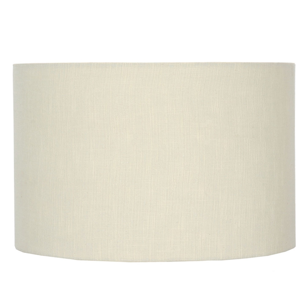 Lino Cream Lampshade
